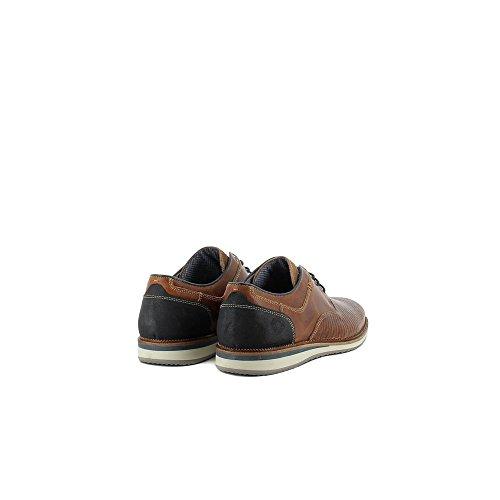 Bullboxer 633-K2-5935A STAMPED Zapatos de cordones Hombre cuero, EU 46