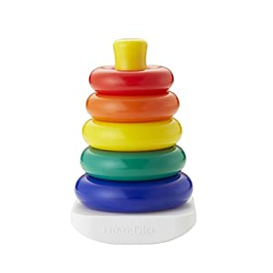 Fisher-Price Brilliant Basics Rock-a-Stack, Multicolor