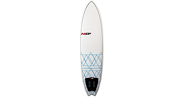 NSP 7 0 Fish EPOXY E2 - Tabla de Surf, 70 Fish Epoxy E2, White/Blue: Amazon.es: Deportes y aire libre