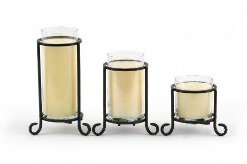 Scroll Pillar Sleeve Small Pillar Candle Sleeve - Yankee Candle