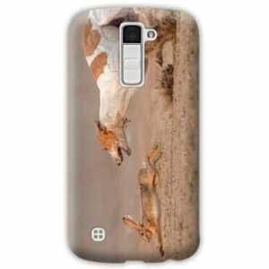 Amazon.com: Case Carcasa LG K10 chasse peche - - lievre B ...