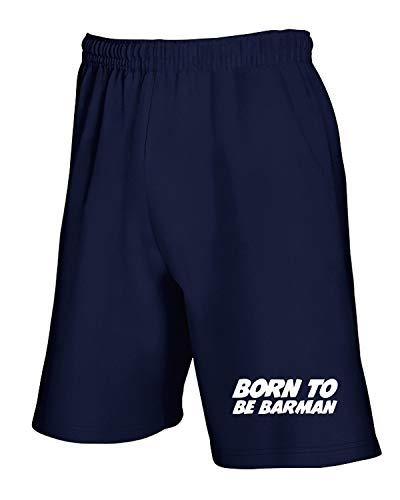 Tuta Pantaloncini Barman Blu Born Beer0189 Navy T To Be shirtshock HxwEqgz5P