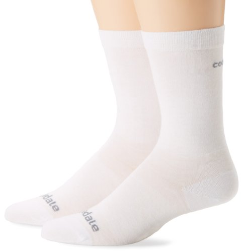 Bridgedale Ultralight Coolmax Liner Socks (2-Pack), White, Medium