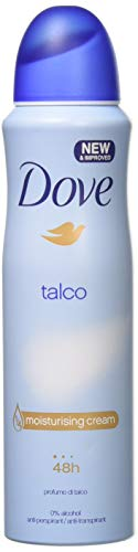 - Talco Anti-Perspirant Deodorant Spray 5.0oz By Dove 150ml (Pack of 6 Cans)