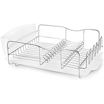 Amazon Com Mdesign Large Metal Kitchen Countertop Sink