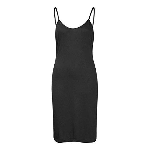 05d7cbe2d75ea7 ... V-ausschnitt Club Deep Ärmelloses Schwarz Kleider Mit Midi  Schlitzbandage Wrap Damen Dekolleté Kleid Vorne ...