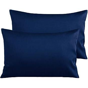 Amazon Com Ntbay 500 Thread Count Cotton Queen Pillowcase