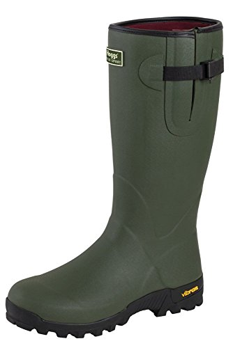 Hoggs Sport Field Rubber of Neo Boots Olive Wellington Fife Lined 11xtgwqFr