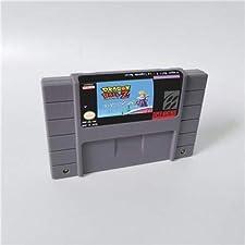 Game card - Game Cartridge 16 Bit SNES , Game Dragon Ball Z - La Legende Saien - Action Game Card US Version English Language