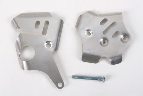 Works Connection Frame Guards Aluminum for Yamaha YZ450F WR450F (Connection Guards Frame Aluminum Works)
