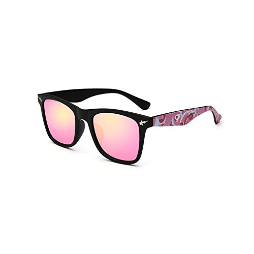 YQ Unisex Cuadradas Durable Turismo Aire Gafas De Libre 4 Al 5 De Color QY Sol Moda Gafas r7gExwrq1