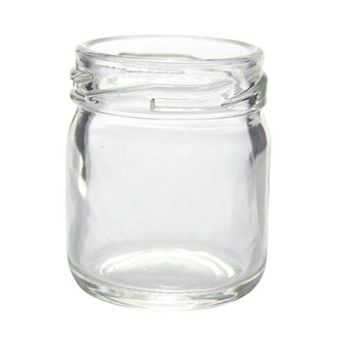 1.3 Ounce Jars - 1.3 oz Clear Glass Round Jars Case 160 by Berlin Packaging