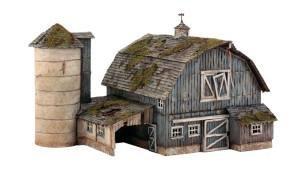 WOODLAND SCENICS PF5190 Rustic Barn HO