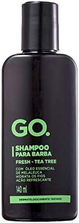GO Shampoo para Barba Tea Tree 140ml, GOCQO