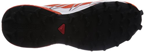 Salomon Speedcross Pro Zapatillas de Trail. para Hombre Rojo Tomate/Blanco/Negro