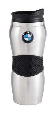 BMW 80900439610 Stainless Steel Travel Mug (Bmw Motorcycle Accessories)