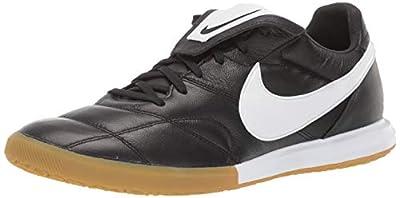 Nike Men's Premier II IC Indoor Soccer Shoes (Black/White) (10.5 M US, Black/White)