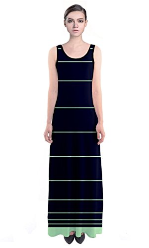 cowcow vestido de mujer Multicolor Negro y Blanco azul marino