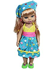 Yasmina Doll for Girls - Multi Color