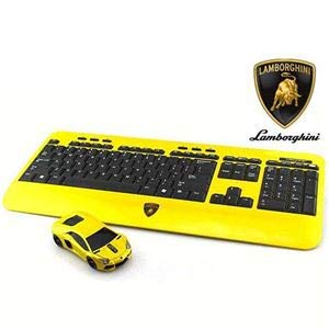 LANDMICE LB-LP700KM-YL Lamborghini LANDMICE LP700 2.4G無線マウス+キーボード (イエロー) LB-LP700KM-YL LP700 B07KNNXSZS, アキルノシ:9e86cc9b --- lindauprogress.se