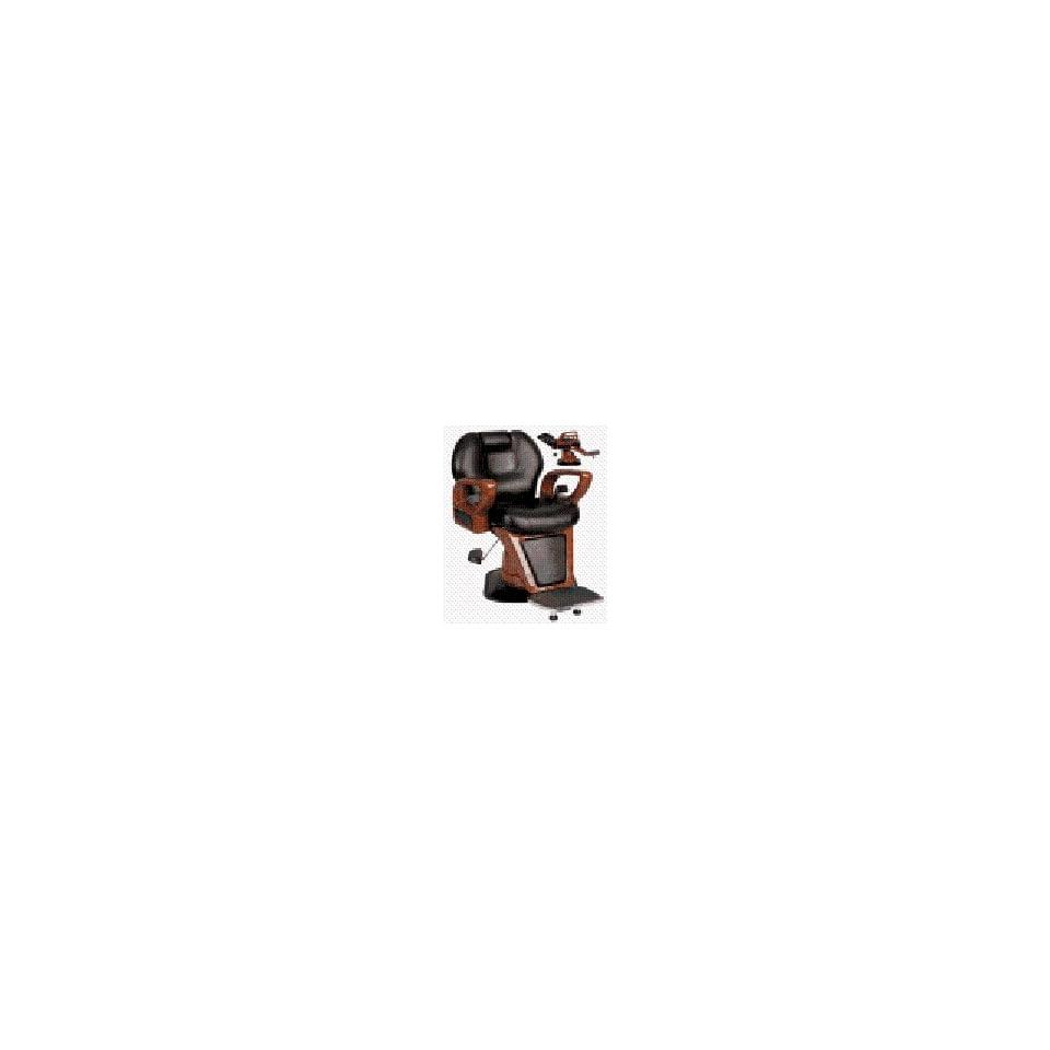 Woodgrain Professional Hydraulic Barber Chair (Black)