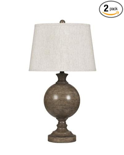 Signature Design By Ashley L283514 Quenby Table Lamp Set Of 2