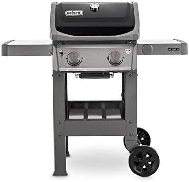 Weber Spirit II E-210 GBS + Plancha Barbecue, Noir