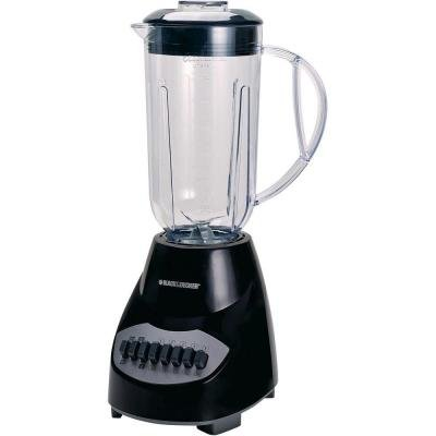 Black & Decker 10-Speed Blender (Black)