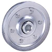 1 X 3 Inch Heavy-Duty Galvanized Steel Pulley by Helton