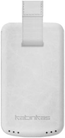 Katinkas 402165 Estuche de extracción Blanco funda para teléfono móvil: Amazon.es: Electrónica