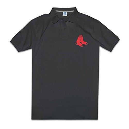 Boston Red Socks Classic Team Logo Mens Fashion Polo Shirts