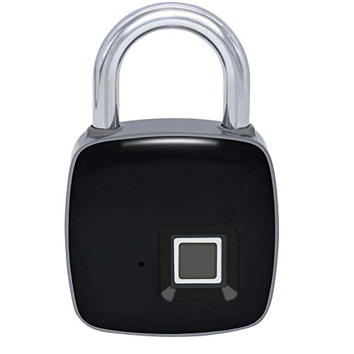 Fingerprint Lock P3+ Mobile APP Smart Fingerprint Padlock Quick Access Waterproof Portable Security Lock Anti Theft Locked