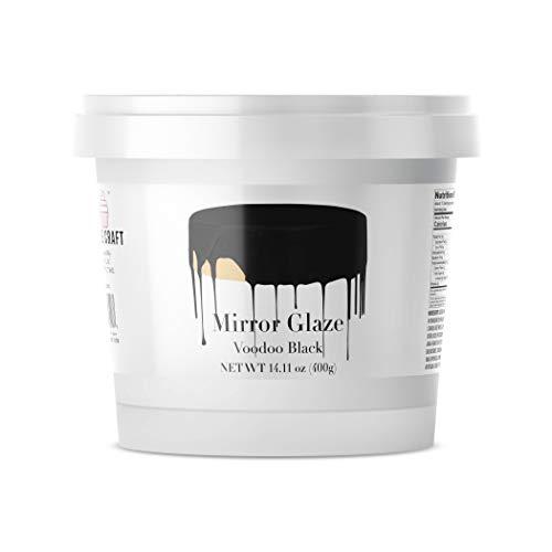 Voodoo Black Mirror Glaze - Glaze Cake