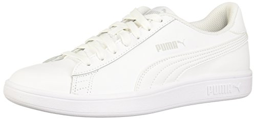 - PUMA Men's Smash v2 Sneaker, White, 9 M US