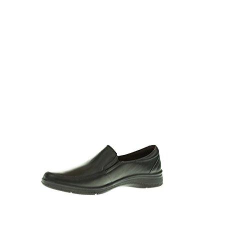2600 Mujer Negro y Plano Negro Zapato Blanco qYBzz
