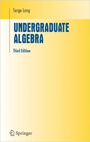 Undergraduate algebra undergraduate texts in mathematics serge undergraduate algebra undergraduate texts in mathematics serge lang 9781441919595 amazon books fandeluxe Images