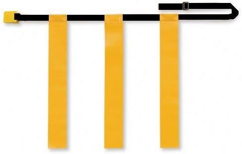 Martin Sports 12本 調節可能 フラッグ フットボール ベルト クイックリリース 旗3つ