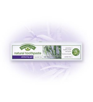 Nature's Gate Natural Toothpaste, Whitening Gel, 5 oz (141 g) (Pack of - Gel Natures Whitening Gate