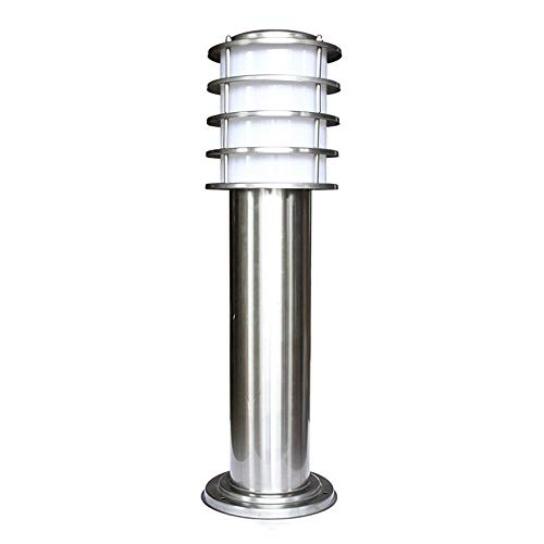 Solar Powered Outdoor Bollard Light in US - 7