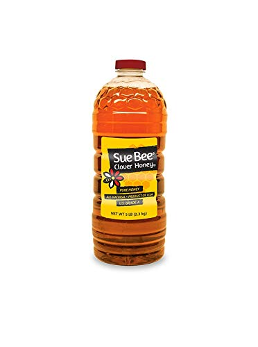 Sue Bee Clover Honey, 5 Pound Container