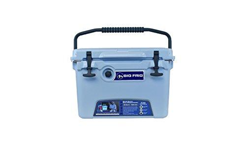 Big Frig Blue Denali Cooler (20 Quart) Bundle includes Cutting Board/Divider, Basket, 5 Year Limited Warranty