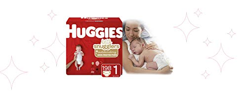 Huggies Little Snugglers Diapers, Size 1, 198 Count (Packaging May Vary) by Huggies (Image #2)