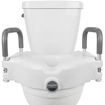 Vive Raised Toilet Seat - 5