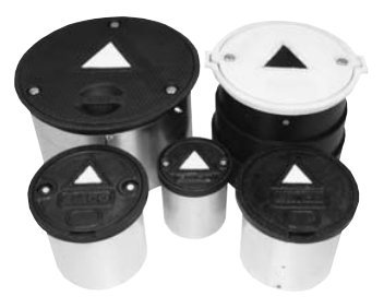 8 Ductile White for 8 Monitor Well MH Bolt Down Ductile White for 8 Monitor Well MH Bolt Down EMCO WHEATON 567150 Lid
