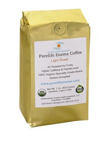 Cheap Purelife Mold-Free Enema Coffee – Doctors Choice – 1 Lb WHOLE BEAN – LIGHT AIR ROAST -100% Organic – Gerson Accepted – A USA Company Since 2011 – Ships Fresh and Direct From Purelife Enema