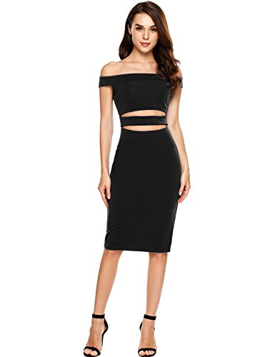 Buy belted pencil dress with ruched mesh - 6