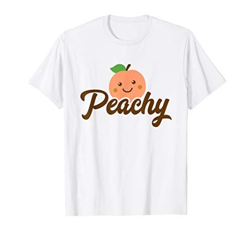 8c1858375cf5 Vintage retro 70s peach fruit humor tees le meilleur prix dans ...