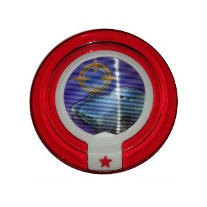 Disney Infinity Power Disc C.H.R.O.M.E. CHROME Damage Increaser