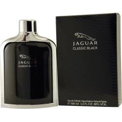 Jaguar Eau de Toilette Spray for Men, Black, 3.4 Ounce (Perfume Ginger Essence White)