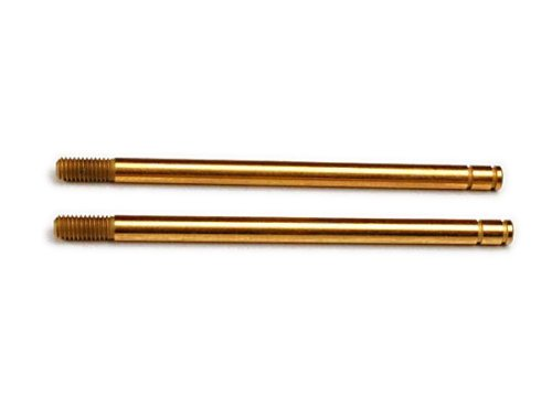 Traxxas 2656T Hardened-Steel Shock Shafts with TiN Coating (XX-long) ()
